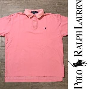 Polo by Ralph Lauren PoloShirt shirt top pink XL